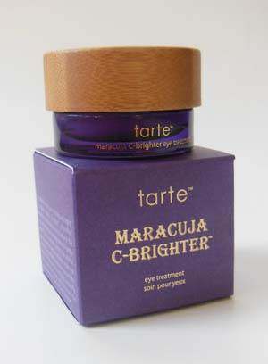 C-Brighter? Tarte's Maracuja C-Brighter Eye Treatment Review ...