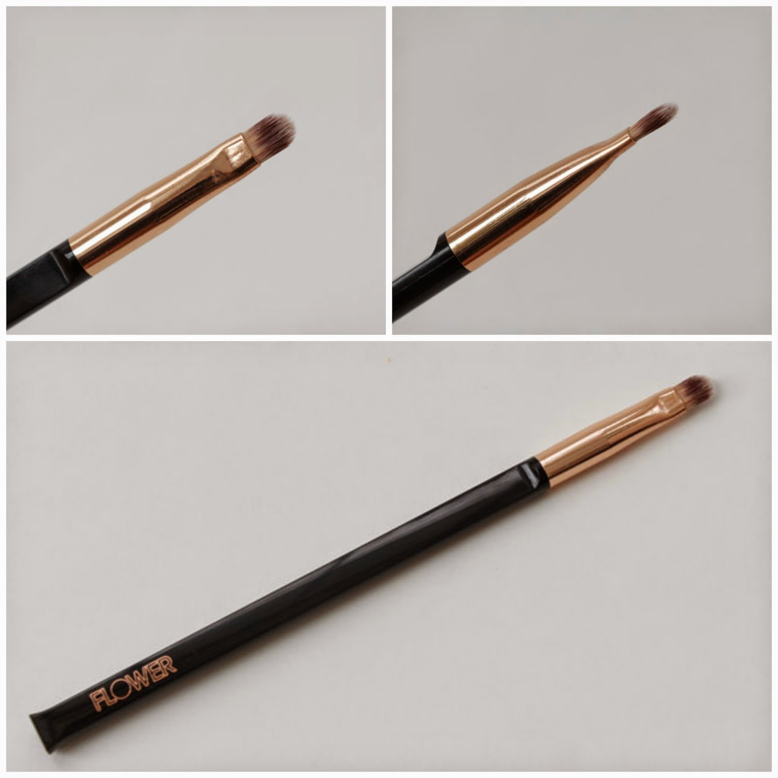 Flower beauty makeupguineapig plus i really love the shape of the handle it looks really gorgeous and its affordable as well j well done with the lip brush flower beauty izmirmasajfo